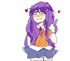 Your pen writes incredibly. by nyo-tastic