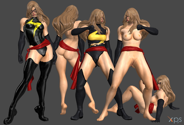 *Commission* Ms. Marvel by Marcelievsky