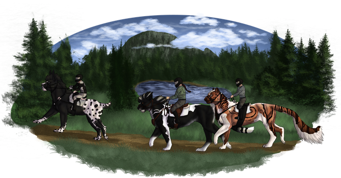 Neverland/Star SFT Riding by SilverRaven042