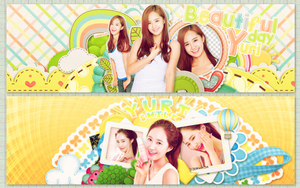 [170115] [PSD FREE] Yuri Kwon Cover Pack by EliKwon