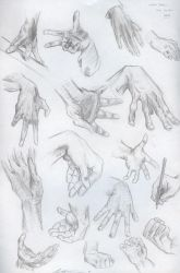 Hand Sketches by Yiji