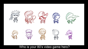 Heroes of the 80's by Tufsing