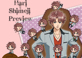 Hari Shimeji Preview by RanChu-Obscure