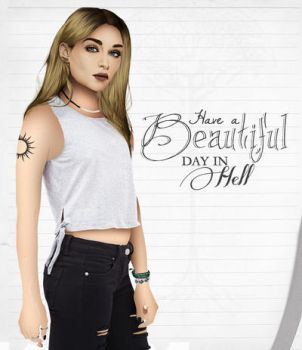 Have a Beautiful Day in Hell ID3 by HelleeTitch