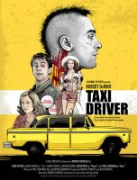 Taxi Driver - Alternative Poster by CrisVector