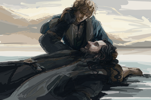 The Hobbit: Thorin and Bilbo FINISHED by SeraphimCrystal