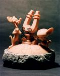 Pinky and the Brain by sculptor101