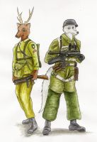 Gift - WW2 Paratroopers by SteinWill