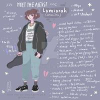 meet the artist // lumiorah by lumiorah