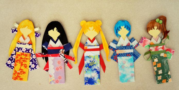 Sailor Paper Dolls by sands-of-times