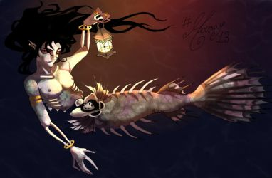Mermay - The Angler Sire by thewomaninred