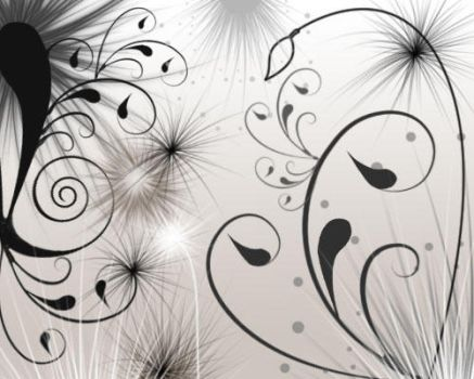 Swirls and Seeds by melemel