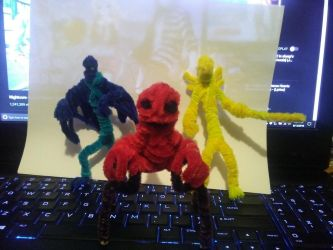 Godzilla NES Pipe-cleaners by HyperBoss