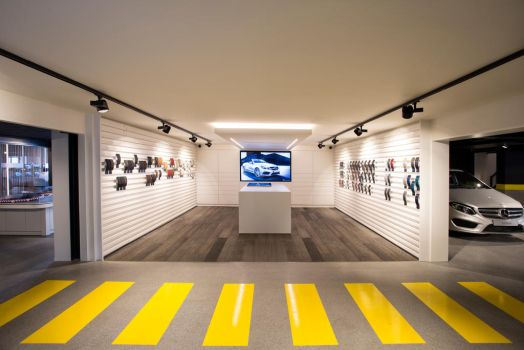 Experience room mercedes by APPELBOOM