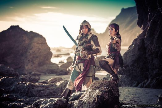 Conquering the shores by Forcebewitya