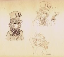 hatter sketch by Navajo-girl
