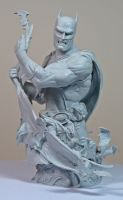 Heroes of the DCU: Batman 2 unpainted1 by BLACKPLAGUE1348