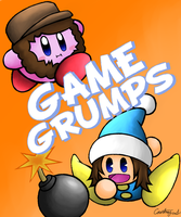 Game Grumps- Kirby Groompkins. by SeraphicSky