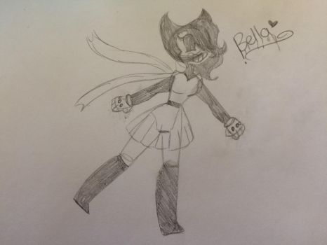 {New Fan Character} Bella Ink by Shadow1Blaze