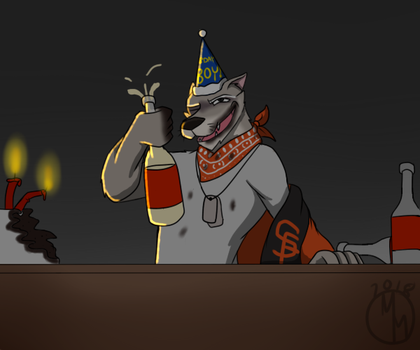 Birthday Drink by mattieguy95