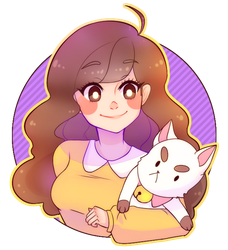 Bee and puppycat by KyiwtieArt
