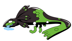 Zygarde's reaction to Sun and Moon by AwokenArts