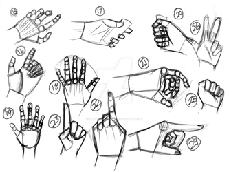 9.25 [Draw 100: Hands, part 2] by ImbuedElegance
