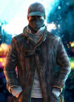 MCU Series - Aiden Pearce by LoveStruck2