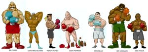 NINTENDO PUNCH OUT  COLOR by digital-alero