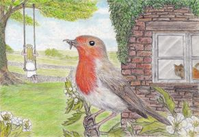 Robin Redbreast and the May Queen by PhilipHarvey