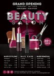 Flyer Beauty Salon Opening Promoting by n2n44