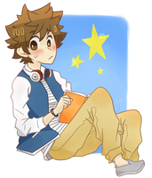 A Tsuna by mmella