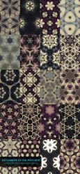 December Tiling Patterns Preview by sambees