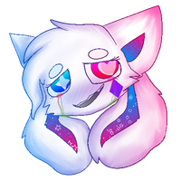 kittydog crying head bc i cant draw anything else by kittydogcrystal