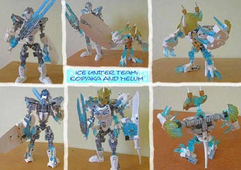 Bionicle G2 Revision:Ice Uniter Team by Trimondius01