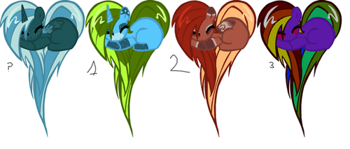 Heartful Pony Adoptables CLOSED, GOG by Kyah-Pony-Adoptables