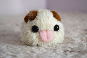 Felted Poro by xxNostalgic