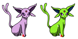 Pokemon #196 - Espeon by Fyreglyphs