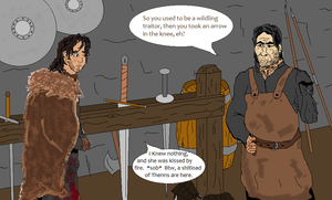 Chapter 49 - A Storm of Swords Drawing Project by apoiaf