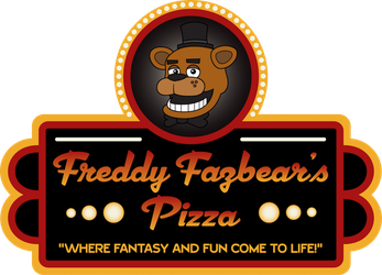 Freddy Fazbear's Pizza logo by tymime