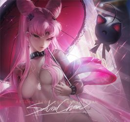 wicked lady . nsfw preview. by sakimichan