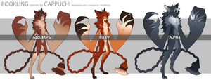 [DONE~!] Floofy Booklings by Cappuchi