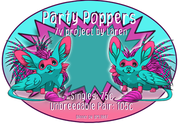 Party Poppers by Bml1997