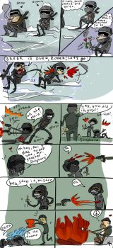 Call of Duty_MW 2, doodles by Ayej
