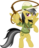 Daring Do: Ponies of the Lost Ark by tygerbug