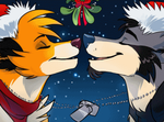 Xmas couples icons by Synthucard