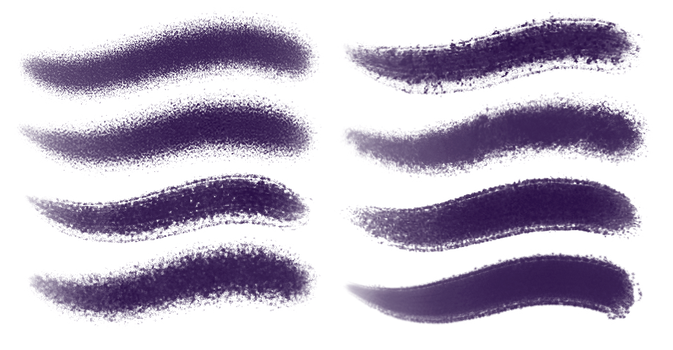 PS brushes set 4-charcoal by JulianS-DerBrennende