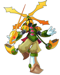 Commission: Propeller Knight X by ultimatemaverickx