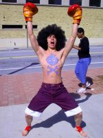 MomoCon 2011- Afro Luffy by CrazyHarrison