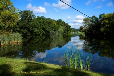 Mill Pond - Monroe, NY  by peterkopher